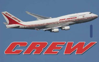 Air India 747 (old colours) Crew Tag